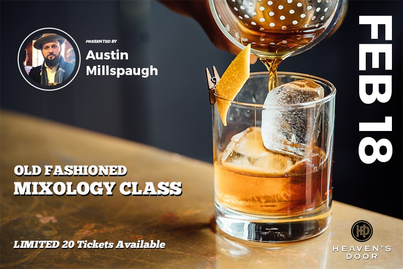 Blackfriar Pub Mixology Old Fashioned Whiskey Class